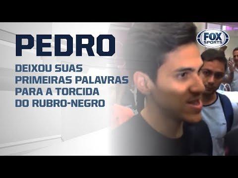 'OPORTUNIDADE ÚNICA', Pedro chega ao Rio para assinar com o Flamengo