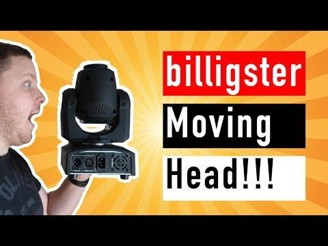 Billigster Moving Head im Test