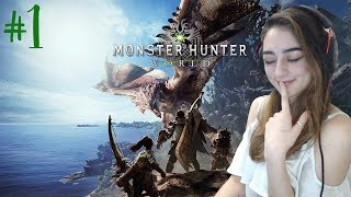 A NEW FAVOURITE GAME?! - Monster Hunter World Playthrough - Part 1