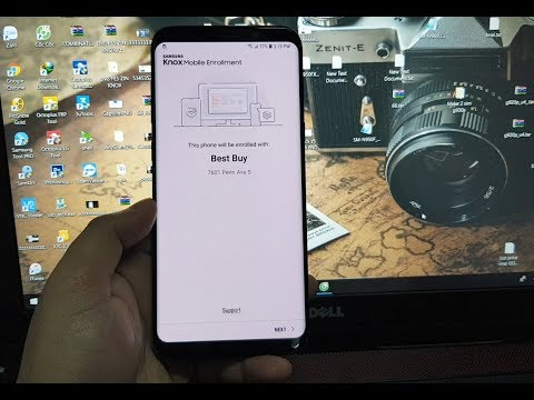 Remove MDM does not allow factoryreset Samsung Galaxy S8