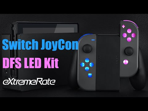 eXtremeRate Nintendo Switch Joycon DFS LED Kit Installation Guide