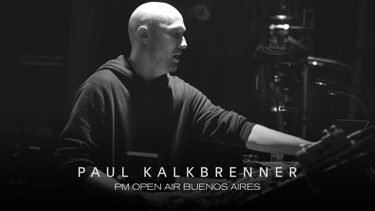Paul Kalkbrenner - Live @ PM Open Air Buenos Aires 2018