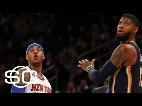 Carmelo Anthony says deal including Paul George with Cavaliers was done | SportsCenter | ESPN