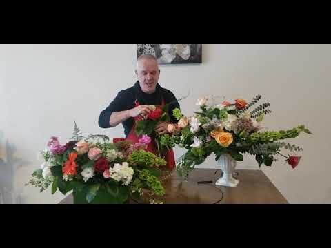 online floral classes  online wedding design classes. how to design a wedding