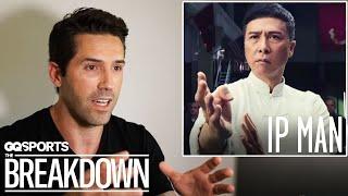 Martial Artist Scott Adkins Breaks Down Fight Scenes from Movies | GQ Sports