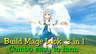 Toram Online - Build Mage Luck 3 in 1