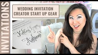 How To Start A Wedding Invitation Business Out Of Your Home - What To Buy