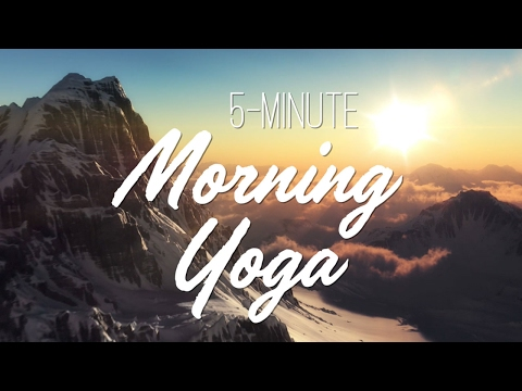 Video 5-Minute Morning Yoga - Yoga With Adriene