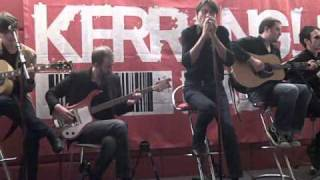 """Suede - """"Europe is our playground & So young"""" - Live at Kerrang Radio, birmingham November 2010"""