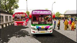 Attuparambath Kerala Private bus small drive at thrissur   Kerala Map euro truck simulator 2