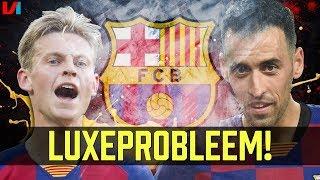 Middenveld-Probleem bij FC Barcelona: Geen Plek Voor Frenkie de Jong & Busquets