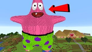 MEGA PATRICK TAKES OVER MINECRAFT!!!