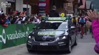 ツール・ド・スイス(Tour de Suisse)2018 第5ステージ、スタート地点グシュタード(Gstaad)の様子【スイス情報.com】