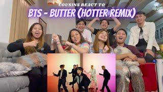 COUSINS REACT TO BTS (방탄소년단) 'Butter' Official MV (Hotter Remix)