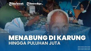 Viral Video Seorang Kakek Menabung Puluhan Juta di Karung, Selesai Dihitung dalam Waktu Dua Hari