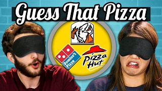 GUESS THAT PIZZA CHALLENGE! (Teens Vs. Food)