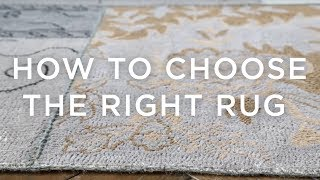 How To Choose The Right Rug: A Guide From west elm