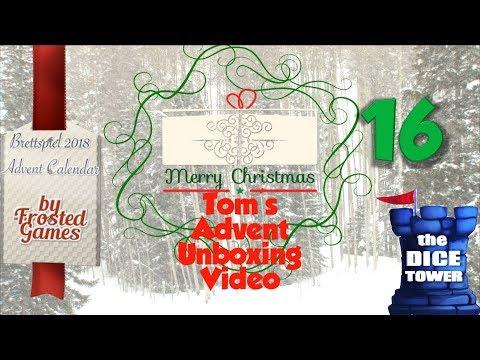 Tom's Advent Calendar Unboxing Video - December 16, 2018