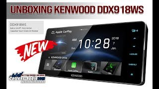 UNBOXING Kenwood DDX918WS | Hi Res Multimedia Monitor (Cartens Audio)