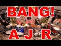 Bang! - AJR - Drum Cover ft. Local Drummers & David Cola on Pearl Export!