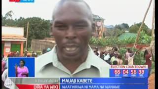 Miili ya watu watatu yapatikana katika eneo la Muthure-Kabete