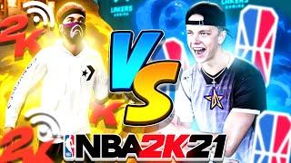 THE #1 2K LEAGUE PLAYER PULLED UP ON ME ON NBA 2K21 NEXT GEN! BEST PRO-AM GUARD VS BEST PARK GUARD
