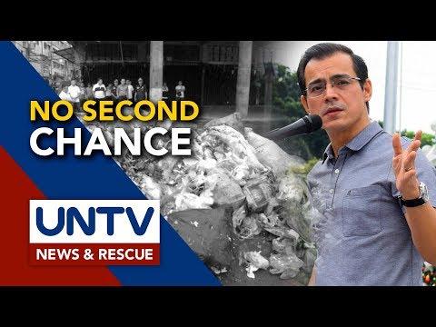 [UNTV]  Mayor Isko, ayaw ng pahintulutan pang magtinda ang mga vendor sa Ylaya, Binondo