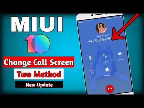 Change Caller Wallpaper On Miui 10 | CALLER SCREEN