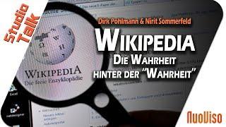 """Wikipedia - Die Wahrheit Hinter Der """"Wahrheit"""" - Dirk Pohlmann & Nirit Sommerfeld Im NuoViso Talk"""