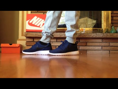 5dd563719da0 Nike Roshe One midnight navy white black günstig kaufen