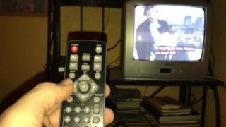 Kabel Digital Receiver an Röhren Fernseher anschließen und einrichten STRONG SRT3001 HDTV Anleitung