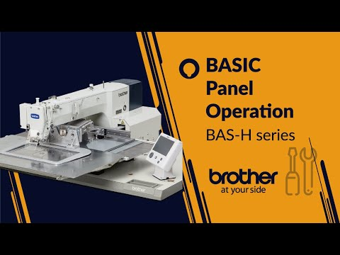 BASIC Panel Operation [Brother BAS-H]