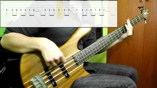Muse - Psycho (Bass Cover) (Play Along Tabs In Video)