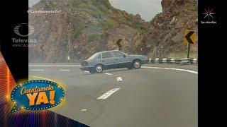 ¡Fuertes accidentes automovilísticos de telenovela! | Cuéntamelo YA!