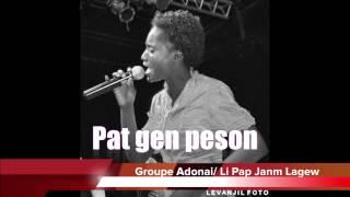 Groupe Adonai- Li Pap Janm Lagew