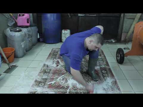 Ручная стирка или как я начинал стирать ковры