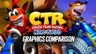 Crash Team Racing Nitro-Fueled: Graphics Comparison (with original CTR)