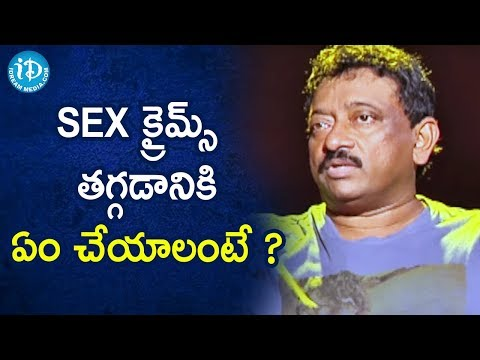 Sex Crimes can be controlled with Sexual Liberalization.- RGV   RGV About Porn   Ramuism 2nd Dose