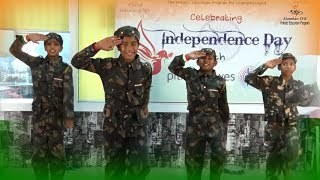 Manthanites celebrated Independence Day with Corporate Pitney Bowes