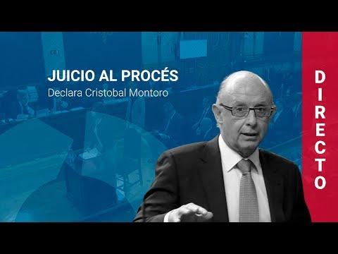 Cristóbal Montoro declara como testigo en el juicio al procés (27/02/2019, COMPLETO)