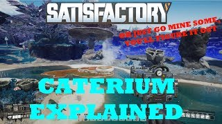 Satisfactory - Caterium Explained - Smart Splitters, Upgraded Power Poles!