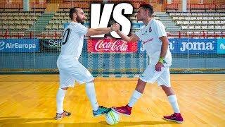 RICARDINHO VS DELANTERO09 - Retos de Fútbol Sala