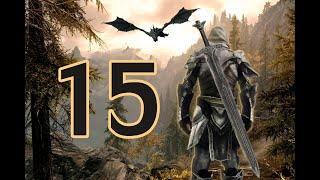 Приключения мечника в мире Скайрима (РЕДОН+куча модов) #12 Великан вломился в дом!!
