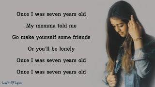 7 YEARS   Lukas Graham (Cover By Jasmine Thompson) (Lyrics)