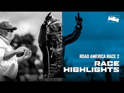 インディカー 第3戦 ロード・アメリカ レース2ハイライト動画