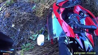 MOTORCYCLE CRASH COMPILATION & Dangerous Moments Motorcycle Accident + MOTO FAILS