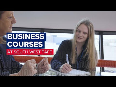 Business Courses at South West TAFE