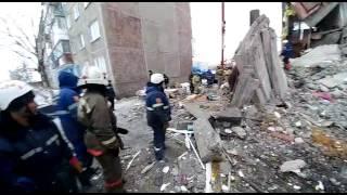 Поиск выживших под завалом, Шахан, Карагандинская область