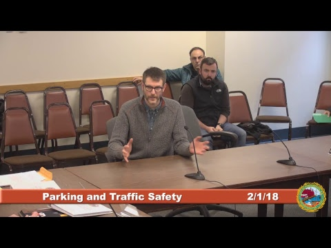 Parking and Traffic Safety Committee 2.1.2018