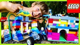 Lego Police MOC Bank Robbery Skit!